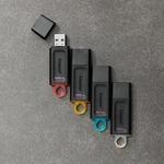 Kingston DataTraveler Exodia 64 GB USB 3.2 Gen 1 Flash Drive - Black, Teal - 5 Year Warranty