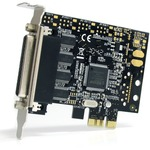 StarTech.com 4 Port RS232 PCI Express Serial Card w/ Breakout Cable - PCI Express x1