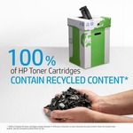 HP 37A Original Toner Cartridge - Black - Laser - 11000 Pages - 1 / Pack