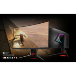 ROG Strix XG32VQ 31.5And#34; LED LCD Monitor - 16:9 - 4 ms