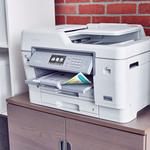 Brother MFC-J6945DW Inkjet Multifunction Printer - Colour - Plain Paper Print - Desktop - Copier/Fax/Printer/Scanner - 4800 x 1200 dpi Print - Automatic Duplex Print