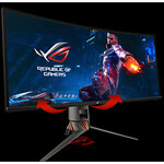 Asus ROG Swift PG349Q  34.1And#34; UW-QHD Curved Screen WLED Gaming LCD Monitor - 21:9 - Plasma Copper, Armor Titanium, Black, Anthracite