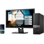 Dell Vostro 3000 3471 Desktop Computer - Core i3 i3-9100 - 4 GB RAM - 1 TB HDD - Small Form Factor - Black