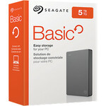 Seagate Basic STJL1000400 1 TB Portable Hard Drive - 2.5And#34; External - Desktop PC Device Supported - USB 3.0