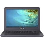 Asus Chromebook C202 C202XA-GJ0005-3Y 29.5 cm 11.6And#34; Chromebook - HD - 1366 x 768 - MediaTek M8173C - 4 GB RAM - 32 GB Flash Memory - Dark Grey - Chrome OS - 10 Hou