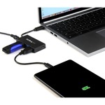 StarTech.com 4 Port USB 3.0 Hub - USB-C to 1x USB-C and 3x USB-A - Includes Power Adapter - USB C / USB Type C Hub - USB Type-C Gen 1 Hub - 4 Total USB Ports - 3 U