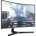 Samsung C27H800FCU 27And#34; Full HD Curved Screen LED LCD Monitor - 16:9 - Dark Silver