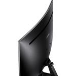 Samsung Gaming CJG50  26.9And#34; WQHD Curved Screen LED LCD Monitor - Dark Silver
