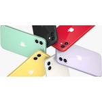 Apple iPhone 11 A2221 64 GB Smartphone - 15.5 cm 6.1And#34; HD - 4 GB RAM - iOS 13 - 4G - Black