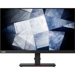 Lenovo ThinkVision P24h-20 23.8And#34; WQHD WLED LCD Monitor - 16:9 - Raven Black
