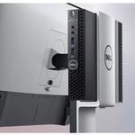 Dell OptiPlex 3000 3060 Desktop Computer - Core i3 i3-8100T - 4 GB RAM - 128 GB SSD - Micro PC - Black