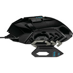 Logitech HERO G502 Gaming Mouse - USB - Optical - 11 Buttons - Cable - 16000 dpi - Scroll Wheel