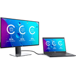 Dell UltraSharp U2719DC 27And#34; QHD LED LCD 4K Monitor - 16:9 - Grey
