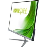 Hannspree HS245HFB  23.8And#34; Full HD LED LCD Monitor - 16:9 - Textured Black, Titanium Grey