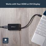 StarTech.com USB 3.0 to HDMI External Video Card Multi Monitor Adapter with 1-Port USB Hub - 1920x1200 / 1080p - 1920 x 1200 - 1 x HDMI