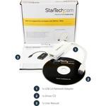 StarTech.com White USB 3.0 to Gigabit Ethernet Adapter