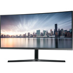 Samsung C34H890WJU 34And#34; UW-QHD Curved Screen LED LCD Monitor - 21:9 - Dark Silver