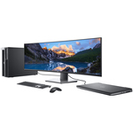 Dell UltraSharp U4919DW 49And#34; Dual Quad HD DQHD Curved Screen WLED LCD Monitor - 32:9