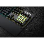 TUF K3 Gaming Keyboard - Cable Connectivity - USB 2.0 Interface - Grey - Mechanical Keyswitch - Windows