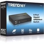 TRENDnet TEG-S82G 8 Ports Ethernet Switch