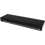StarTech.com 8 Port PS/2 KVM Switch Module for 1UCABCONS/17/19 - 8 Port - 1U - Rack-mountable