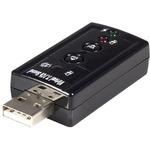 StarTech.com USB audio adapter - virtual 7.1 - external sound card - stereo audio - USB - External