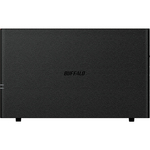 Buffalo LinkStation LS210 1 x Total Bays NAS Server - External - Marvell ARMADA 300 370800 MHz - 3 TB HDD 1 x 3 TB - 256 MB RAM DDR3 SDRAM - Serial ATA/300 - Gigab