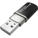 Transcend JetFlash 320 8 GB USB 2.0 Flash Drive - Onyx Black