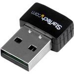 StarTech.com USB 2.0 300 Mbps Mini Wireless-N Network Adapter - 802.11n 2T2R WiFi Adapter