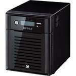 Buffalo TeraStation TS5400DWR1204 4 x Total Bays NAS Server - Desktop - Intel Atom D2550 Dual-core 2 Core 1.86 GHz - 12 TB HDD 4 x 3 TB - 2 GB RAM DDR3 SDRAM - S