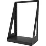 StarTech.com Heavy Duty 2-Post Rack - Open-Frame Server Rack - 16U 2POSTRACK16 - Store your server, network and telecom devices in this sturdy steel, open-frame ra