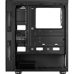 AeroCool Python Computer Case - ATX, Micro ATX, Mini ITX Motherboard Supported - Mid-tower - SPCC, Acrylonitrile Butadiene Styrene ABS - Black - 5.81 kg - 4 x Bay