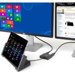 StarTech.com MST Hub - DisplayPort to 3x DisplayPort - Multi Stream Transport Hub - DP 1.2 to DP