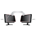 3M Black, Matte Privacy Screen Filter - For 61 cm 24And#34; LCD Widescreen Monitor