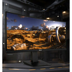 TUF VG35VQ 35And#34; WQHD Curved Screen LED Gaming LCD Monitor - 21:9 - Black