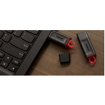 Kingston DataTraveler Exodia 128 GB USB 3.2 Gen 1 Flash Drive - Black, Yellow - 5 Year Warranty
