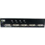 StarTech.com 4 Port DVI Video Splitter with Audio - 1 x DVI-I Dual-Link Video In