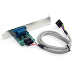 StarTech.com 24in Internal USB Motherboard Header to Serial RS232 Adapter - DB-9 Male Serial - IDC Female IDE