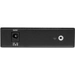 StarTech.com Fiber Media Converter Gigabit 1000Mbps MM Fibre LC 550m - 10/100/1000Base-T, 1000Base-SX/LX - Rack-mountable, Desktop