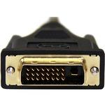 StarTech.com 1m Micro HDMI to DVI-D Cable - M/M - 1 x HDMI Micro Type D Male Digital Audio/Video