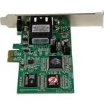 StarTech.com PCI Express PCIe Gigabit Ethernet Multimode SC Fiber Network Card Adapter NIC - 550m - PCI Express x1 - 1 Ports - 1 x SC Ports - Optical Fiber