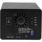 StarTech.com USB 3.1 10Gbps External Enclosure for Dual 2.5And#34; SATA Drives - with RAID Andamp; UASP