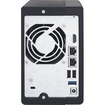 QNAP Turbo NAS TS-251plus 2 x Total Bays SAN/NAS Storage System - Tower - Intel Celeron Quad-core