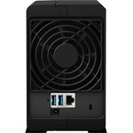 Synology DiskStation DS218play 2 x Total Bays SAN/NAS Storage System - Desktop - Realtek RTD1296 Quad-core 4 Core 1.40 GHz - 2 x 1TB WD Red