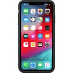 Apple Case for Apple iPhone XS Max Smartphone - Elastomer Hinge - Black