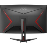 AOC C32G2ZE 31.5And#34; Full HD Curved Screen 240Hz WLED Gaming LCD Monitor - 16:9 - Black