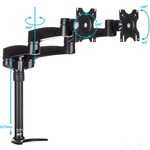 StarTech.com Dual Monitor Mount with Articulating Arms -