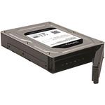 StarTech.com Dual-Bay 2.5in to 3.5in SATA Hard Drive Adapter Enclosure with RAID - Supports SATA III Andamp; RAID 0, 1, Spanning, JBOD Aluminum - SATA/600 - Serial ATA/600