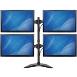 StarTech.com Quad Monitor Stand - Crossbar - Steel - Monitors up to 27And#34;- Vesa Monitor - Computer Monitor Stand - Monitor Arm - Up to 68.6 cm 27And#34; Screen Support - 3