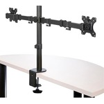 StarTech.com Desk Mount Dual Monitor Arm - Articulating - For up to 32And#34; VESA Mount Monitors - Double Joint Crossbar - Steel ARMDUAL2 - 2 Displays Supported81.3 c
